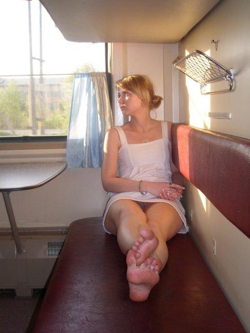 случайное фото траха в поезде