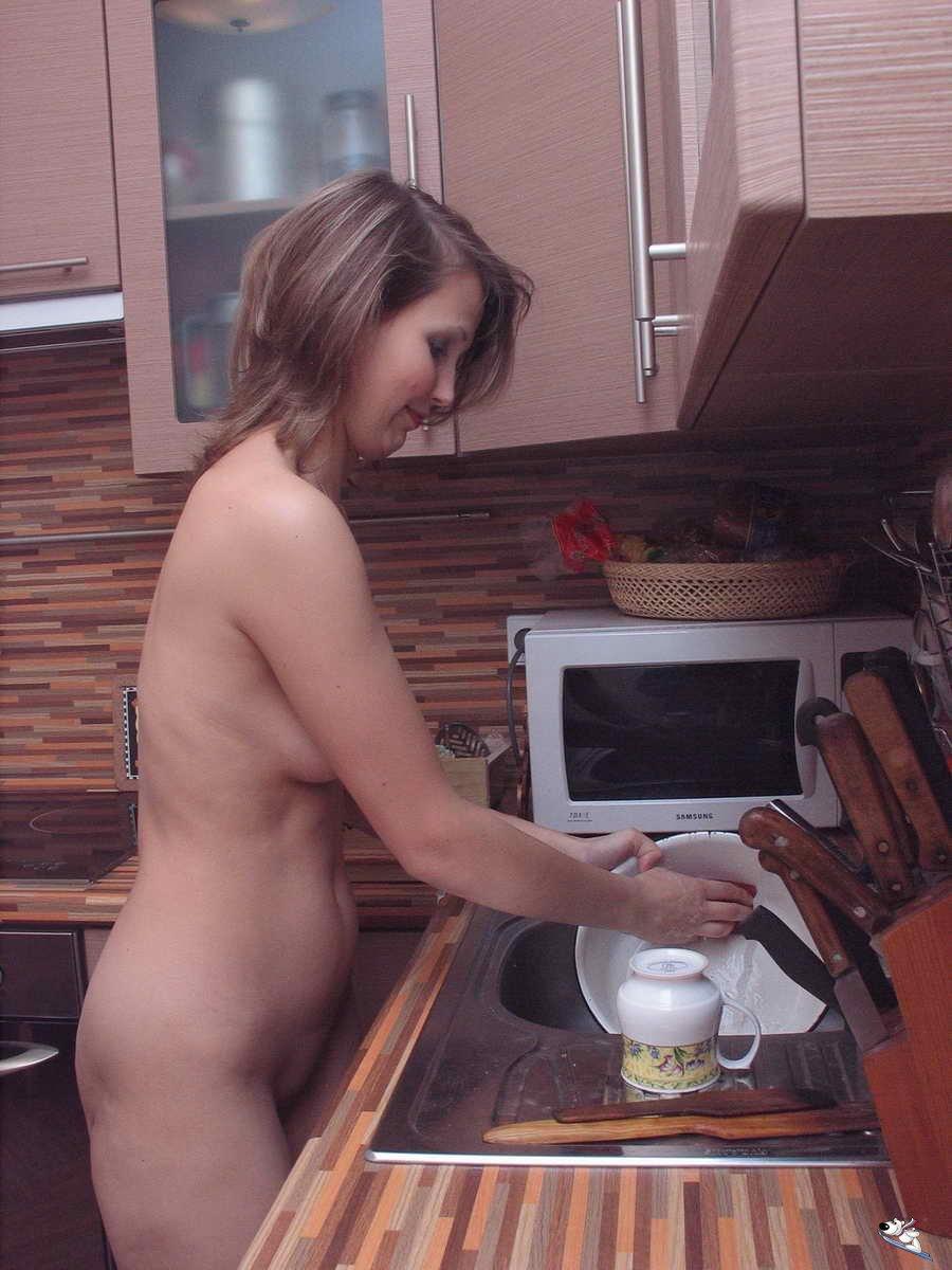 Соблазнили жену на кухне 17 фотография
