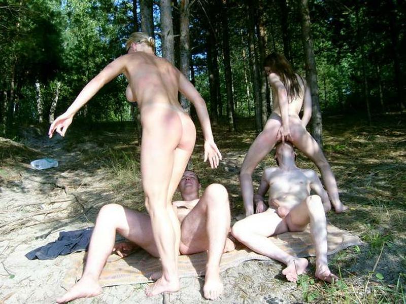 Оргии студентов в лесу фото 18-361