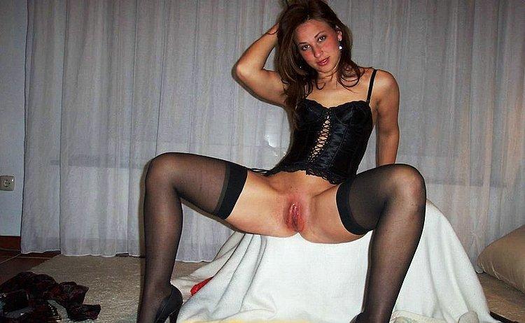 Любительское порно фото девушек в колготках