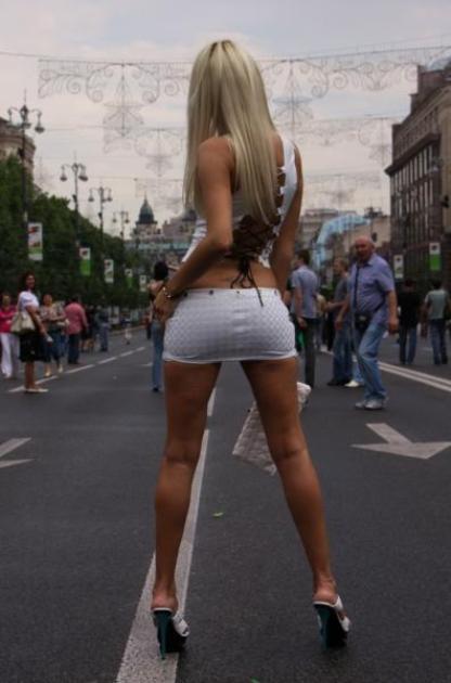 Проституток фото попы