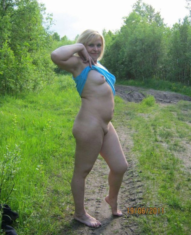 Порно фото жен в лесу