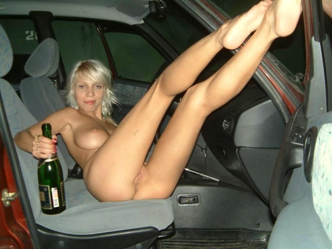 трах в машине пьяные