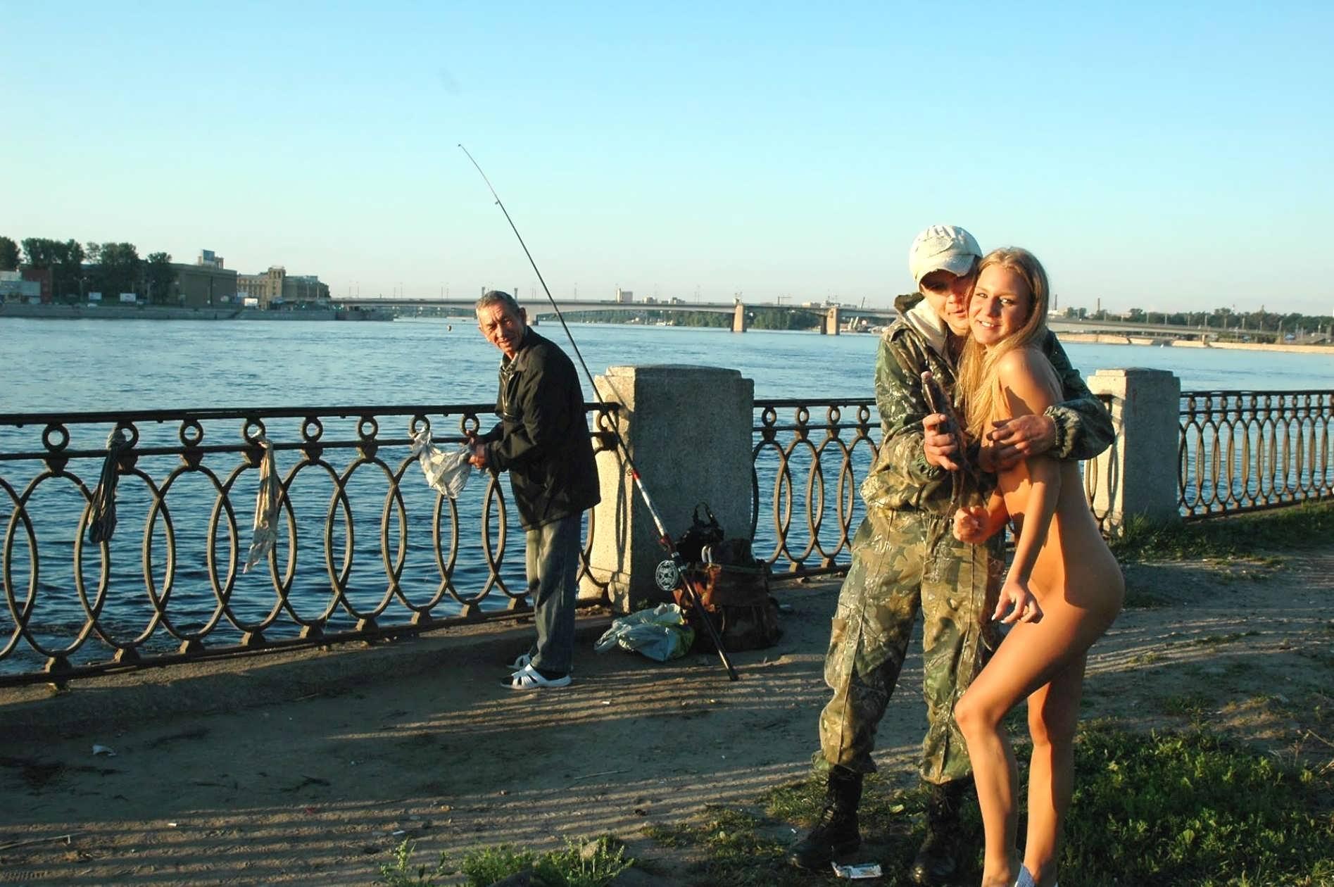 Секс на нарыбалки фото 715-61