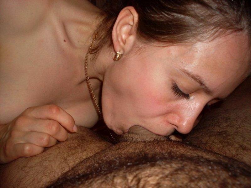 Homemade porn deep blowjob