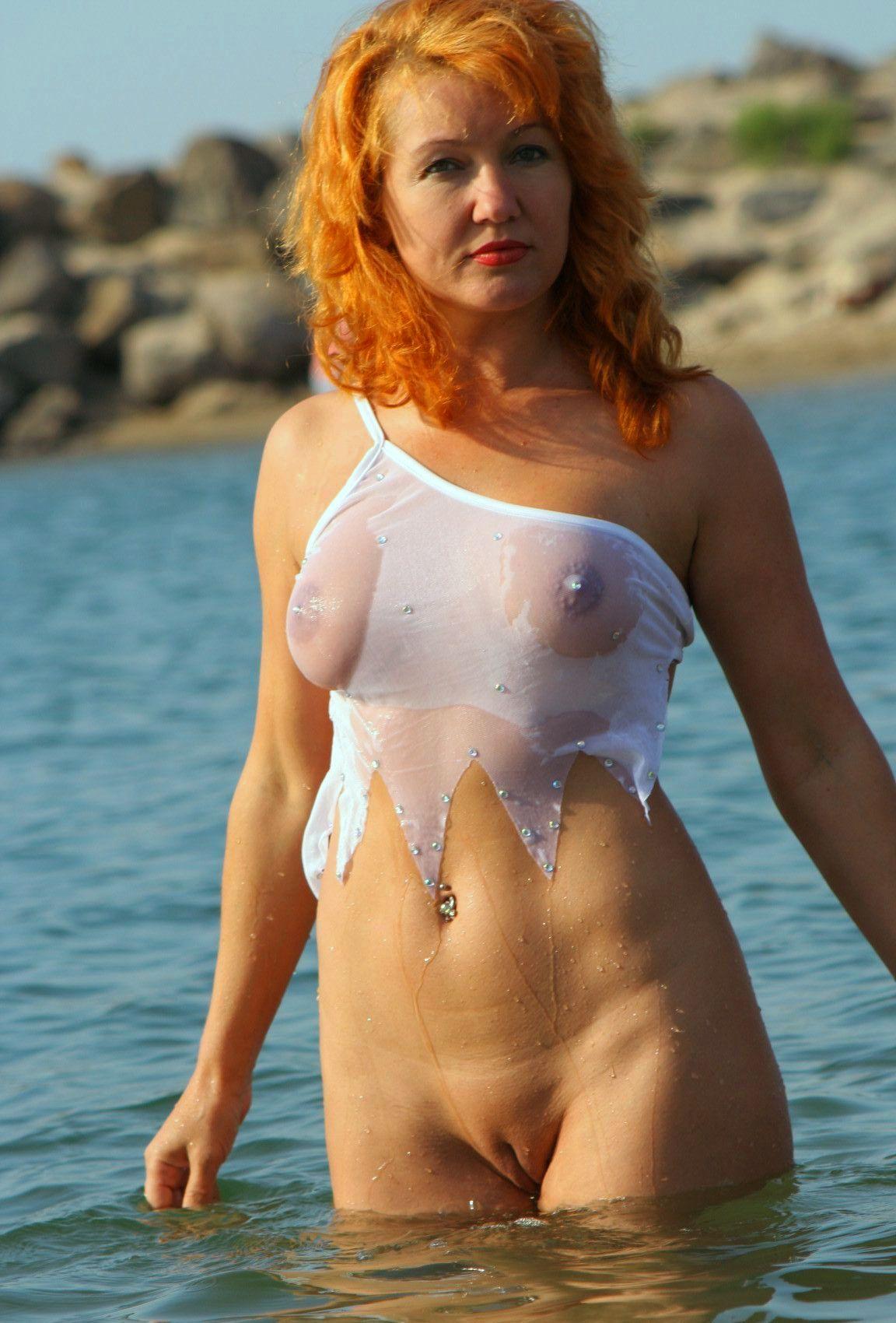 Прислали фото жены с моря порно фото 761-510