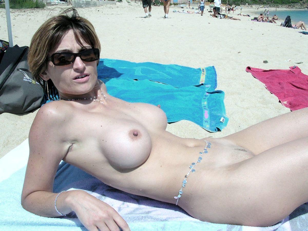 сиськи на пляже частные фотографии-ыз2