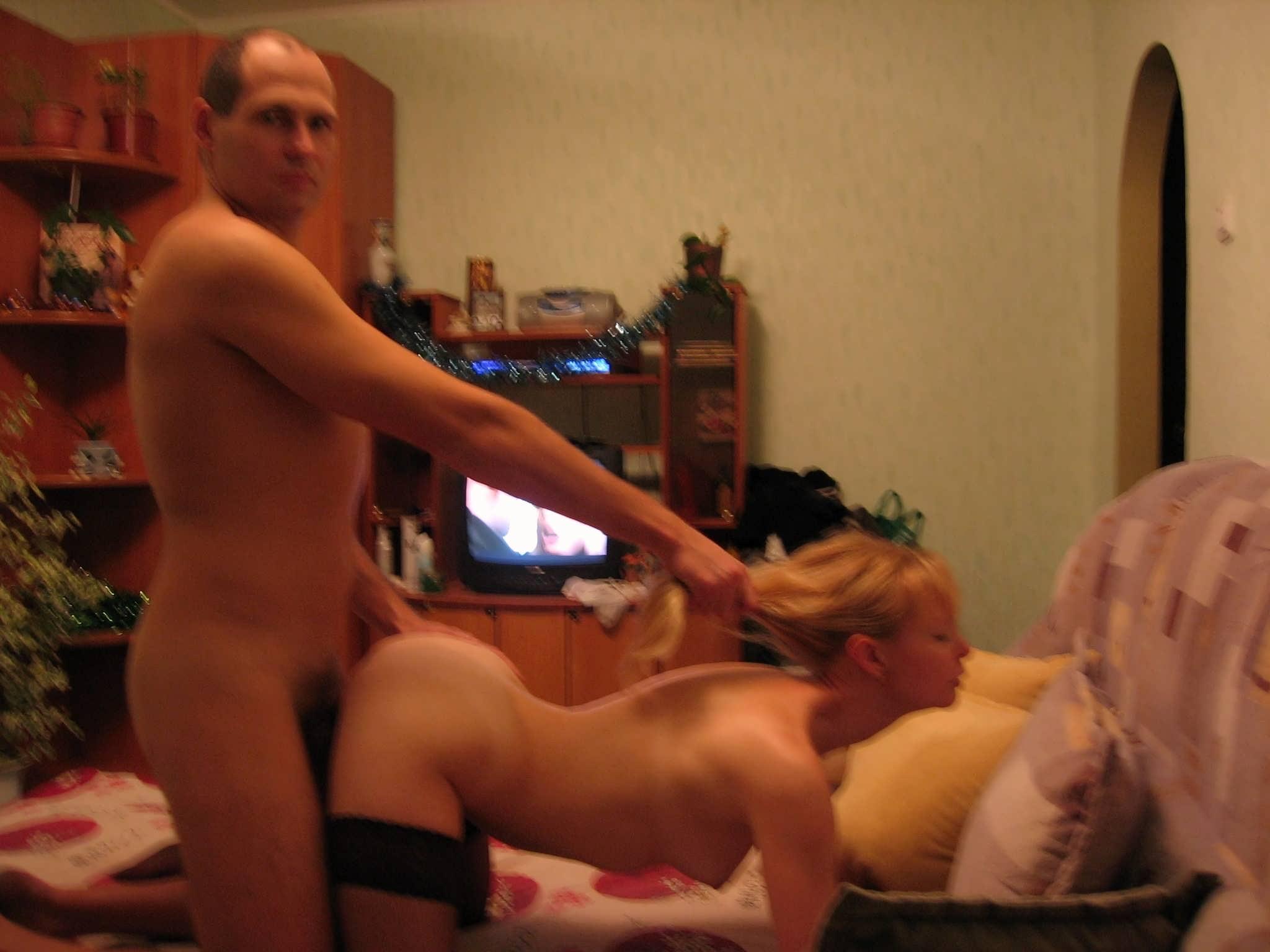 Порно ролики жена ебет мужа