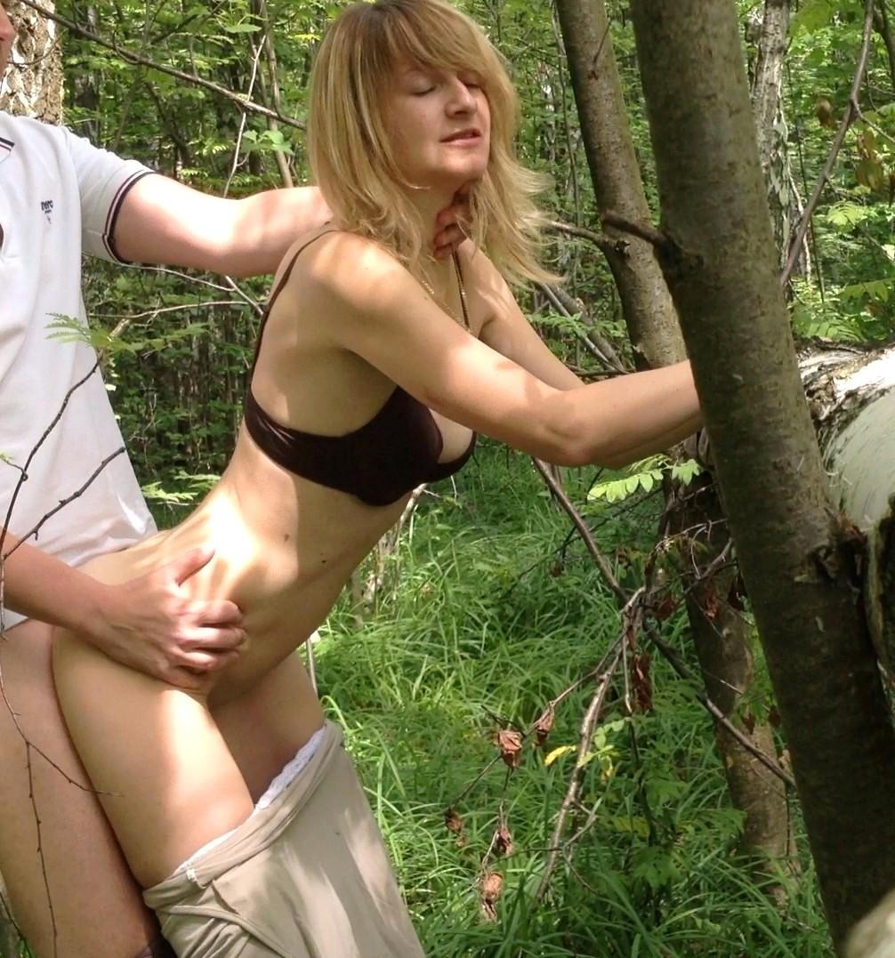 Секс частный в парке